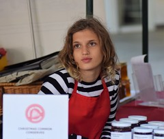 Junior Stallholder at Christmas Common Conserves