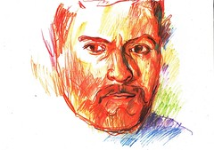 BUSCANDO ALMA (GARGABLE) Tags: alma gargable angelbeltrn apuntes sketch dibujos drawings colores lpicesdecolores