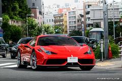 Scuderia Ferrari Spec (ayeshonline) Tags: specialea aperta ferrari v8 limitededition tokyo japan supercar roppongi city