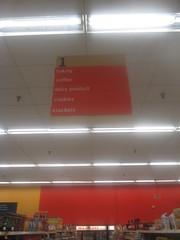 Pantry Aisle Sign (Random Retail) Tags: kmart store retail 2015 sidney ny