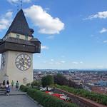 2016-08-12 08-15 Graz 071 Schlossberg, Uhrturm thumbnail