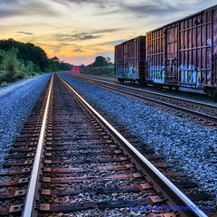 100 Days of Summer #88 - End of the Line (elviskennedy) Tags: 100daysofsummer 25 25mm a7 a7r a7rii a7rm2 ackerville art batis bed boxcar burgendy canadian clouds crossing elvis elviskennedy endoftheline evening freight graffiti granite hdr highdynamicrange johnhenry kennedy landscape lights logistics outdoor outside pacificnorthwest plates rail railroad rails railway red refelection road rocks rural scenic sky sony spike steel summer sunset ties tracks train travel treack trees washington wheels wi wisconsin wwwelviskennedycom yellow zeiss slinger unitedstates us