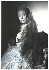 OLIVERO, Magda, Adriana Lecouvreur, Teatro alla Scala, 1957 (Operabilia) Tags: opera autograph claudepascalperna operabilia magdaolivero cilea adrianalecouvreur milano scala dominiquejpréaux lirica