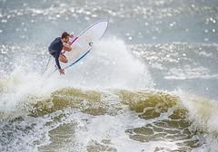 Surfing @Rockaway Beach NY  Labor Day Weekend 2016