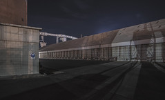 Grain Store (Laszlo Bilki) Tags: industriallandscape industry laszlobilki nightphotography urbanlandscape nikon longexposure