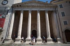 Santa Maria sopra Minerva (n'oras_et_narie) Tags: umbria romain templeromain ombrie assise italie italia templedeminerve assisi