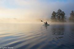 Kayaking at dawn; New Hampshire (lmstonenhp1) Tags: inspirations lakelife lakeview newengland newhampshire newhampshiretourism psalms ustourism
