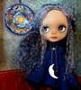 Star Child (SJB Dolls) Tags: blythe doll custom zaloa star moon blue mohair