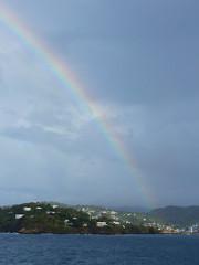 St. Lucia Rainbow (vbvacruiser) Tags: cruise caribbean vacation silversea silverwind stlucia rainbow