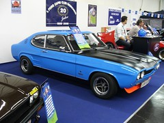 Ford Capri MK1 (911gt2rs) Tags: messe essen coupe youngtimer blau blue rs 2600 tief low stance tuning spoiler