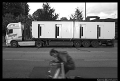 Neumnster, Germany (Cercle2Confusion) Tags: germany neumnster truck cercle2confusion blackwhite