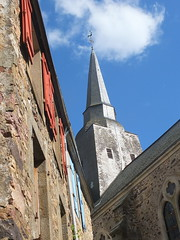 En Mayenne (Chti-breton) Tags: clocher ardoise