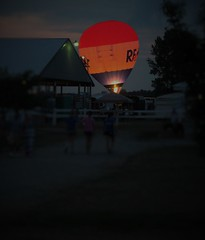 Evening glow (viktrav) Tags: countyfair allencounty indiana hotairballoons balloons balloon