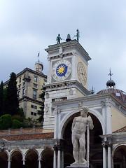 Udine, Italy - Torre dellOrologio (johnnysenough) Tags: 39 udine torredellorologio loggiadisangiovanni clocktower friuliveneziagiulia italy italianrepublic repubblicaitaliana italia italie italien europe travel 100citiesx1trip snv34705 johnnysenoughhepburn