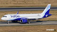 IndiG0 A320-271N msn 7033 (dn280tls) Tags: indigo a320271n msn 7033 fwwde vtitl