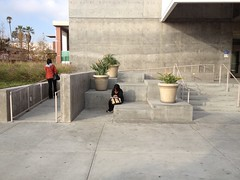ada ramp and concrete steps