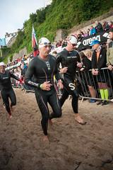 Ironman Wales 2016 (carolinematt2) Tags: ironman ironmanwales ironmancymru 2016 triathlon swim swimmers tenby northbeach
