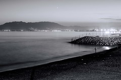 Pescador solitario (Costero2010) Tags: pescador mar cielo arena