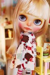 Bambi ( Ale plays with dolls Ale-K) Tags: blythe custom customblythe doll toy kawaii diorama dollhouse japan faceup