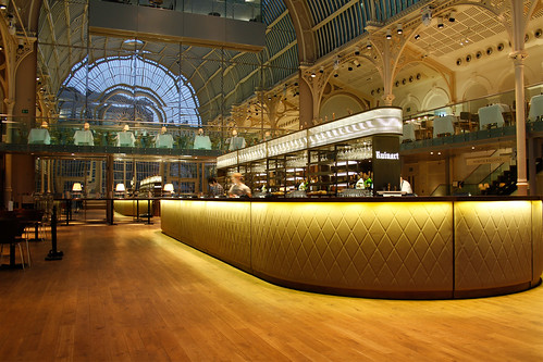 Paul Hamlyn Hall Champagne Bar — Royal Opera House