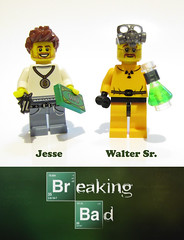 Breaking Bad LEGO (felt_tip_felon) Tags: show walter white jesse toys tv model lab lego drugs minifigs meth hbo pinkman dealers breakingbad