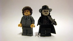Dark City Minifigures (The Brick Guy) Tags: film movie lego stranger trenchcoat scifi custom tuning darkcity updated minifigures johnmurdoch mmcb brickwarriors assassindagger