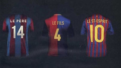 The father,the son and the holy ghost (Horizon Enterprises) Tags: barcelona holland football s