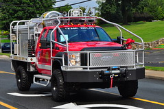 Mahwah Fire Department MP-5 Brush Truck (Triborough) Tags: ny newyork ford engine brush firetruck fireengine mp5 stonypoint rocklandcounty mfd f450 brushtruck firematic mahwahfiredepartment fseris