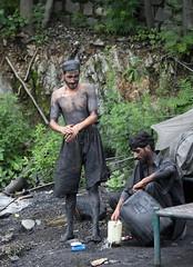 Coal miner slightly cleaner, near Muzaffarabad, AJK, Kashmir (Paul Snook) Tags: tunnel kashmir coalmine ajk coalmining muzaffarabad
