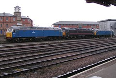 47709 47703 47712 Derby 19/04/06. (37260 - 5 million+ views, many thanks) Tags: cut derby eastleigh scrapped 47709 190406 47703 47712