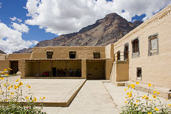 Tabo Monastery (eshank*) Tags: old india canon worship buddhism holy monastery tabo himalayas spiti 996 dlailama