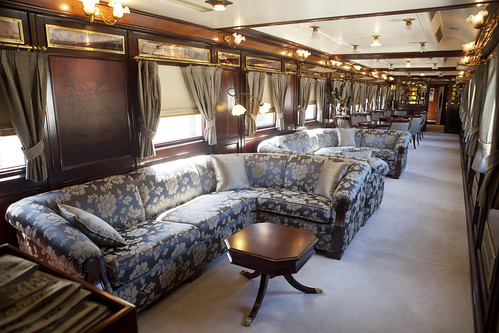 Al Andalus luxury train - lounge Car