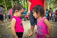 Liany & Veyla (David Rahmat) Tags: family vacation children mom fun dad play moment