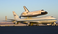 Space Shuttle Endeavor, SCA NASA 905 (Code20Photog) Tags: california force space sca aircraft air flight center science nasa research shuttle 905 edwards base carrier endeavor dryden ov105