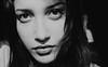 (Erika Esposito-Albini) Tags: bw woman white black macro face mouth hair photo donna big eyes foto pic lips erika bianco nero capelli volto espositoalbini ©espositoalbini ©eea