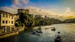 Atardecer en San vicente de la Barquera (J Alema) Tags: sunset sea espaa castle atardecer spain castillo cantabria sanvicentedelabarquera xz1