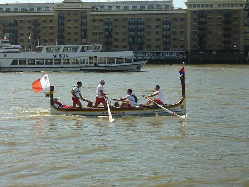 thames race boat 2012