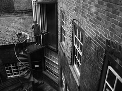 Precipitous (Simon Crubellier) Tags: city uk england blackandwhite bw london canon blackwhite europe britain ixus openhouse cityoflondon spab londonist simoncrubellier ixus70 58174mm