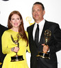 Julianne Moore and Tom Hanks 64th Annual Primetime Emmy Awards, held at Nokia Theatre L.A. Live