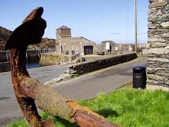 Amlwch Anchor ii (DizDiz) Tags: uk wales island anglesey april2009 olympusc720uz