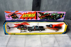Corgi Toys The Batman Batmobile, Batbike On Trailer And Batcopter Gift Set No.40 1976 - 3 Of 3 (Kelvin64) Tags: corgitoysthebatmanbatmobile batbikeontrailerandbatcoptergiftsetno401976