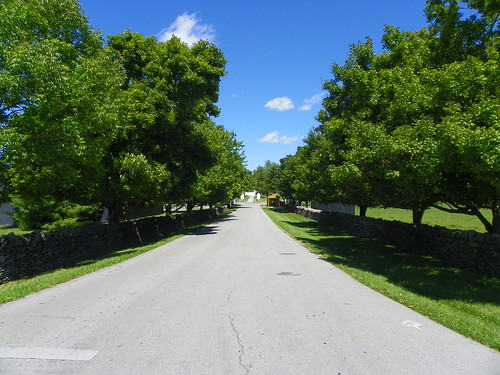Entrance to Shaker Village