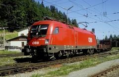 1116 189  Semmering  19.08.04 (w. + h. brutzer) Tags: analog train austria sterreich nikon eisenbahn railway zug trains locomotive taurus bb semmering lokomotive elok 1116 eisenbahnen eloks webru