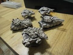 Untitled (2012-09-30 23:29:57) (Steel Paladin) Tags: miniatures mecha tanks fusiler voltigeur miniaturewargaming dreampod9 hovertanks heavygearblitz nucoal