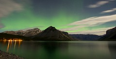 IMG_4421 (A.Connah) Tags: canada banff northernlights auroraborealis lakeminnewanka