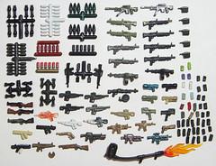 'Nam Prizes (Silenced_pp7) Tags: lego vietnam prototype prizes nam proto brickarms protips