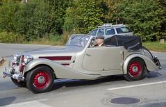 Aero 50 Sodomka custom cabriolet (1938) (The Adventurous Eye) Tags: classic car race climb do hill 1938 brno 50 rallye aero kabriolet sodomka závod soběšice vrchu brnosoběšice