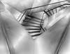 Geometries (Paco CT) Tags: madrid urban blackandwhite bw blancoynegro architecture stairs spain construction arquitectura geometry interior bn escalera explore staircase construccion inside urbano esp 2012 geometria caixaforum pacoct fsuro