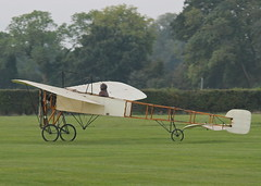 Bleriot XI monoplane c/n 14 (G-AANG) - the world's oldest aeroplane, first flew in 1909 (stancs) Tags: shuttleworth shuttleworthcollection oldwarden gaang bleriotxi autumnairdisplay oldestaeroplane