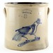 165. 19th Century NY Cobalt Decorated Crock